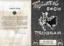 Lions Club Minstrel Show Program front cover