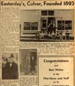 Easterday Funeral Home history article 1951