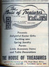 1981 House of Treasures Ad