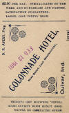 Colonnade Hotel Card