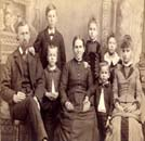 Unidentified members of the Stahl family, late 1800s