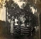 Vandalia Park gazebo early 1900s