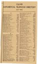 1952 Culver Telephone Directory 04