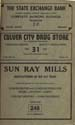 1952 Culver Telephone Directory 31